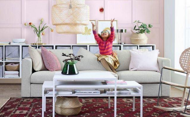 Iskanje popolne sedežne garniture za dnevno sobo je lahko zapleteno. FOTO: Ikea