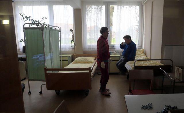 Na dan, ko je bila objavljena odločba ustavnega sodišča, je vlada sprejela sklep o rekonstrukciji varovanega oddelka C v Domu Lukavci.<br /> Foto Tadej Regent