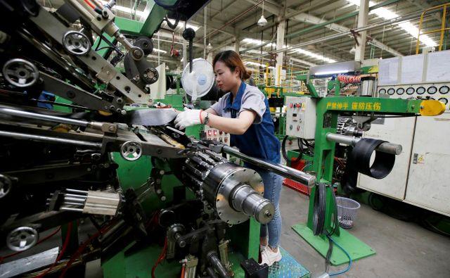 Kitajska izvozna industrija ne temelji več na poceni delu. FOTO:Reuters