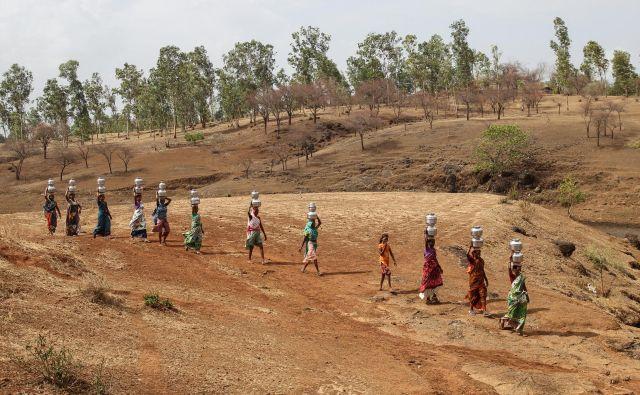 Bodo ljudje v nekaterih delih Indije sploh še lahko živeli? FOTO: Reuters