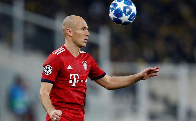 Arjen Robben se poslavlja od aktivnega igranja nogometa. FOTO: Reuters