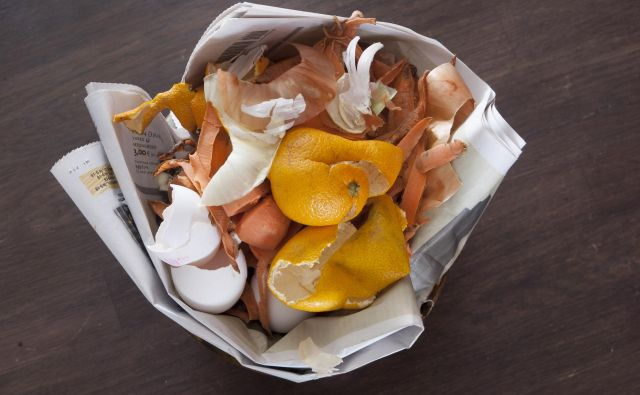 Biološki odpadki običajno zelo hitro romajo v smeti ali v kompostnik – nekatere ostanke pa lahko porabimo še za kaj drugega. FOTO: Shutterstock