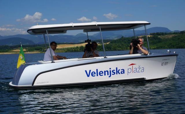 Pred kratkim sem se z družino odločil, da preživim dan ob Velenjskem jezeru. Fotodokumetnacija Dela