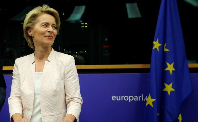 Ko so vse druge alternative odpadle, je bila Ursula von der Leyen, dolgoletna nemška ministrica v vladah Angele Merkel z izrazito proevropsko držo, naenkrat videti kot povsem logična izbira za naslednjo predsednico evropske komisije. Foto Reuters