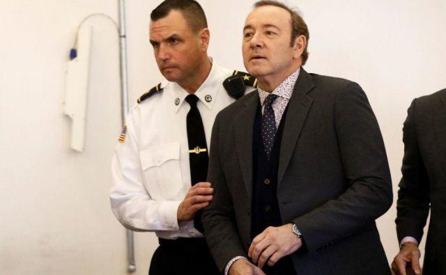 Kevin Spacey se je v zvezi z incidentom na sodišču že januarja izrekel za nedolžnega. FOTO: Reuters