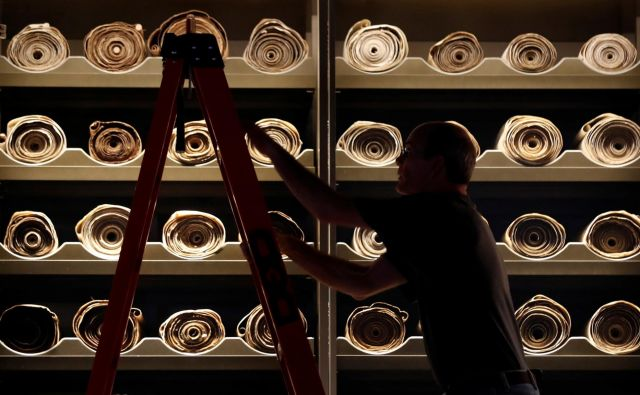 Arhiv Kumranskih rokopisov Foto Reuters
