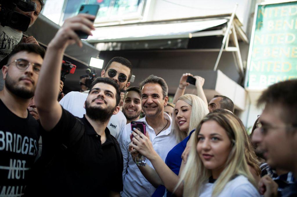 Vrnitev stranke, ki je Grčijo vrgla v brezno