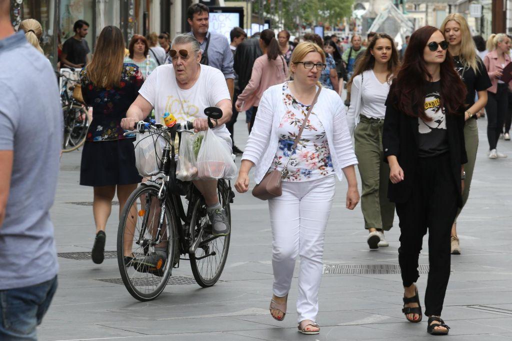 FOTO:Kaj vse moti kolesarje v Ljubljani