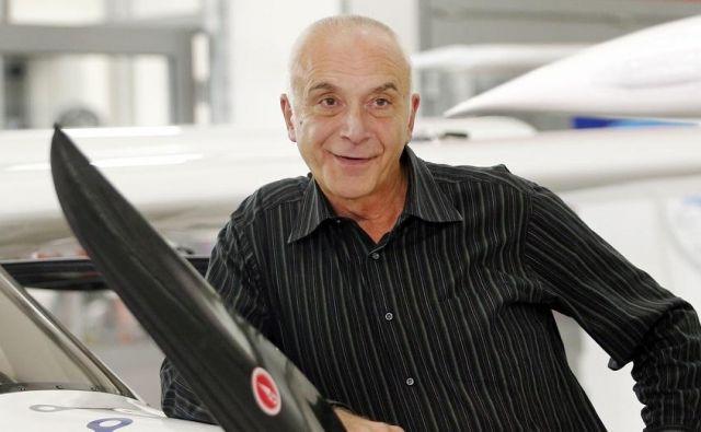 Iv Boscarol, lastnik in direktor Pipistrela.<br /> Foto Aleš Černivec