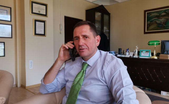Rajko Marić, častni konzul Slovenije v Vojvodini. Foto Milena Zupanič