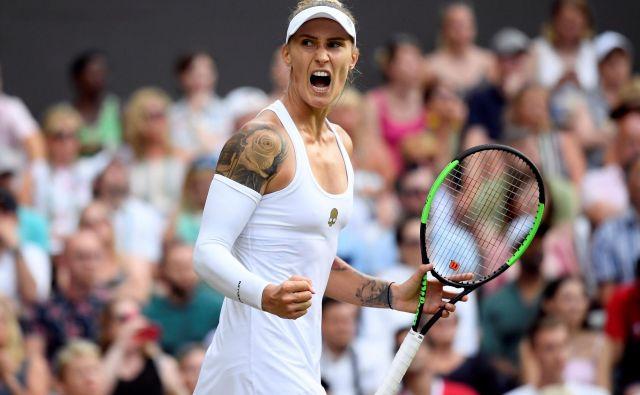 Polona Hercog je v Wimbledonu zapravila izjemno priložnost za igranje v drugem tednu, a zdi se, da se ji bo v prihodnje ponudila še kakšna. FOTO: Reuters