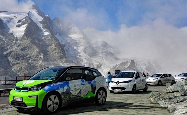 »Potovanje brez emisij je možno!« To je moto in izziv krstne izvedbe e-ture združenja Alpski biseri. FOTO: Alpine Pearls e-Tour
