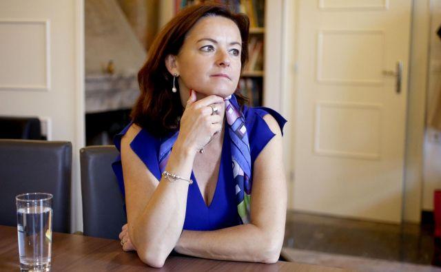 Tanja Fajon je imela pred leti dvome o zaposlitvi otrok politikov in jih ima še zdaj, toda... FOTO: Roman Šipić/Delo