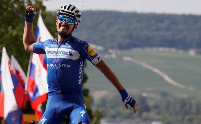 Francozi so tokrat prvo domačo zmago dočakali že v tretji etapi. FOTO: Reuters