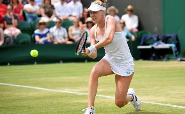 Po včerajšnji zmagi nad prvo igralko sveta čaka Alison Riske danes četrtfinalni dvoboj s Sereno Williams. FOTO Reuters
