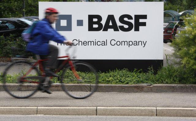 Na poslovne rezultate multinacionalke BASF je vplivalo ohlajanje gospodarstva v svetu, posebno v industrijski proizvodnji. Foto Reuters