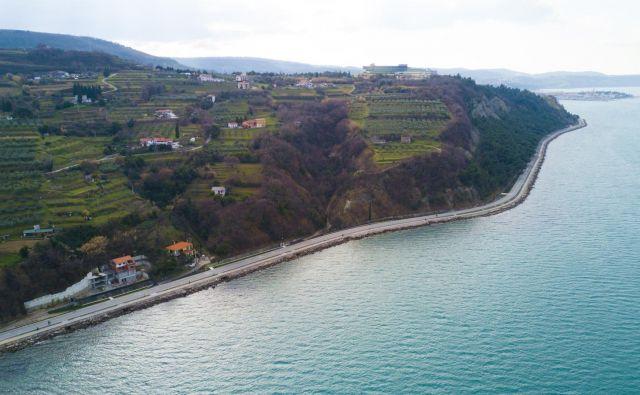 Nekdanja obalna cesta med Koprom in Izolo ima velik turistični potencial.