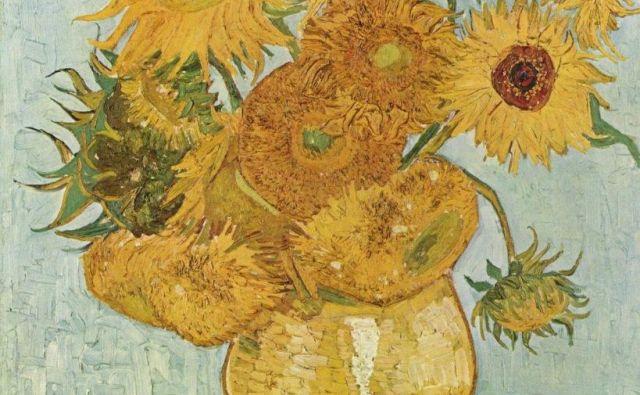 Sončnice Vincenta van Gogha FOTO: Van Goghov muzej Amsterdam