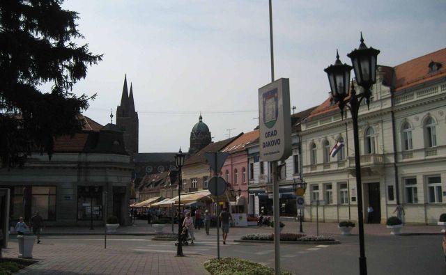 V Đakovem še vedno veliko ljudi trpi za posledicami vojne na Hrvaškem. FOTO: Wikipedija