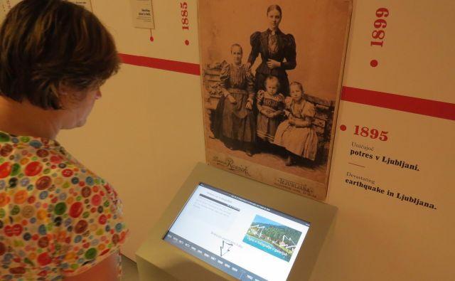Zgodovino Litije in bližnje okolice lahko obiskovalci muzeja spoznajo tudi s pomočjo nove tehnologije. Foto Bojan Rajšek