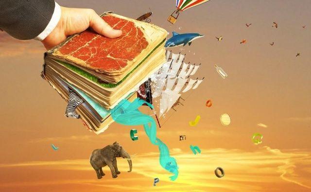 Možgani poskrbijo, da prebrano dojemamo kot slike. Foto Shutterstock