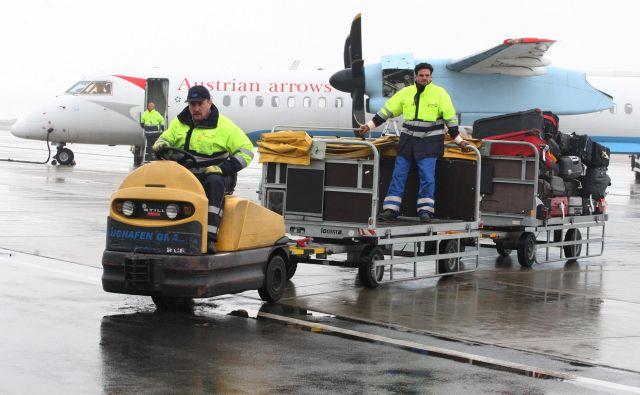 Bo avstrijsko letališče v Gradcu partner mariborskemu? FOTO: Tadej Regent/Delo