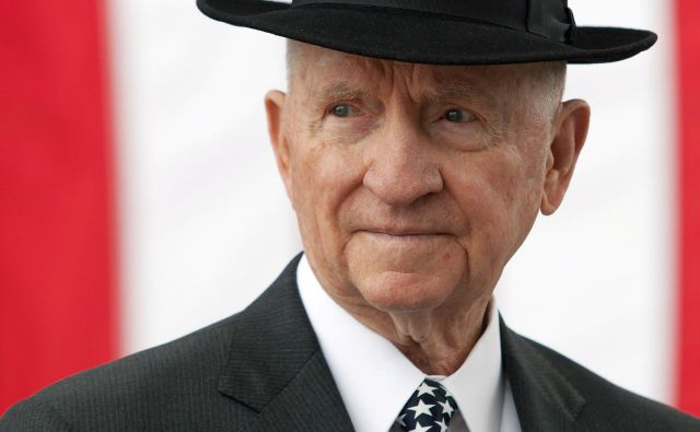 Ross Perot je umrl star 89. let. FOTO Reuters