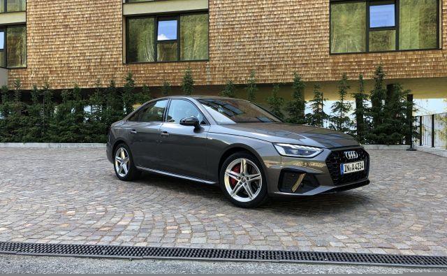 Audi A4 prihaja k nam jeseni, stal bo najmanj 33 tisoč evrov. FOTO: Aljaž Vrabec