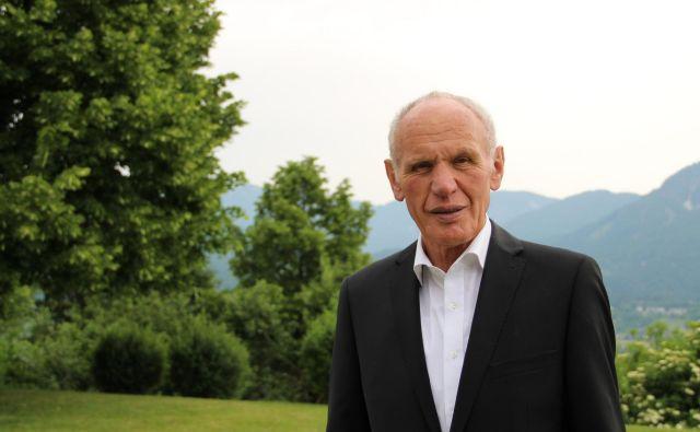 """""""Molim in si želim, da bi tisti, ki znajo slovensko, to prenašali naprej,"""" pravi Stanko Trap. Foto Simona Fajfar"""