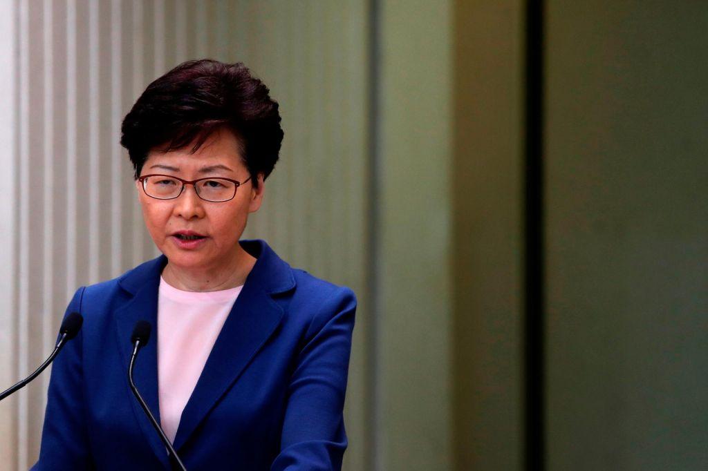 Voditeljica Hongkonga: Zakon o izročanju je »mrtev«