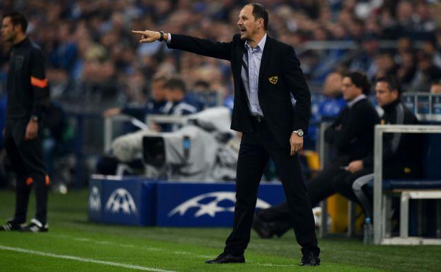 Murin trener Ante Šimundža dobro pozna občutke v evropskih tekmovanjih. FOTO: AFP