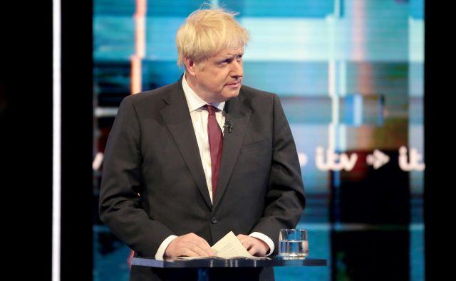 Boris Johnson ni zavrnil možnosti razpustitve parlamenta v primeru vzpona na oblast. FOTO: Reuters