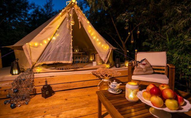 """Glamping je """"nadgradnja"""" kampiranja. Foto: Shutterstock"""