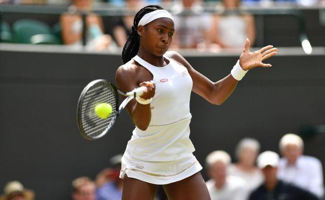 Bodo zaradi Cori Coco Gauff pri WTA znova pretehtali pravila glede starostnih omejitev? FOTO: AFP
