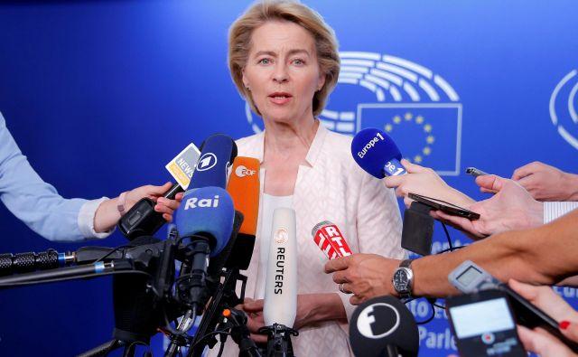 Kandidatka za naslednico Jean-Clauda Junckerja zagovarja vpeljavo mehanizma za ocene delovanje pravne države v članicah. FOTO: Reuters