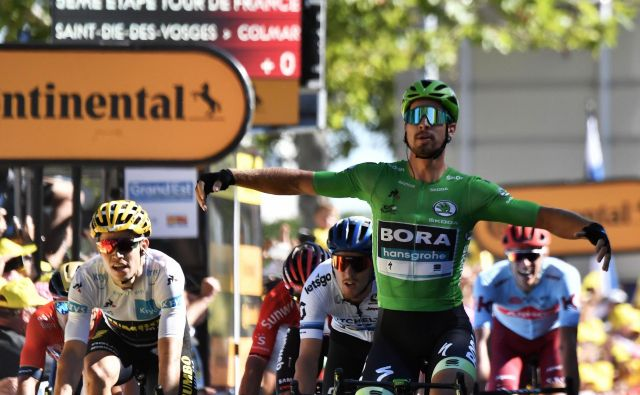 Peter Sagan je še 12. v karieri dobil etapo Toura. FOTO: AFP