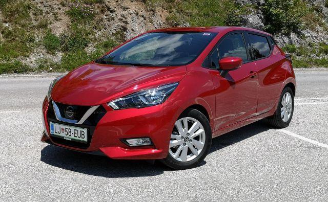 Nissan micra je z novo generacijo malce daljša in nižja. FOTO: Gregor Pucelj