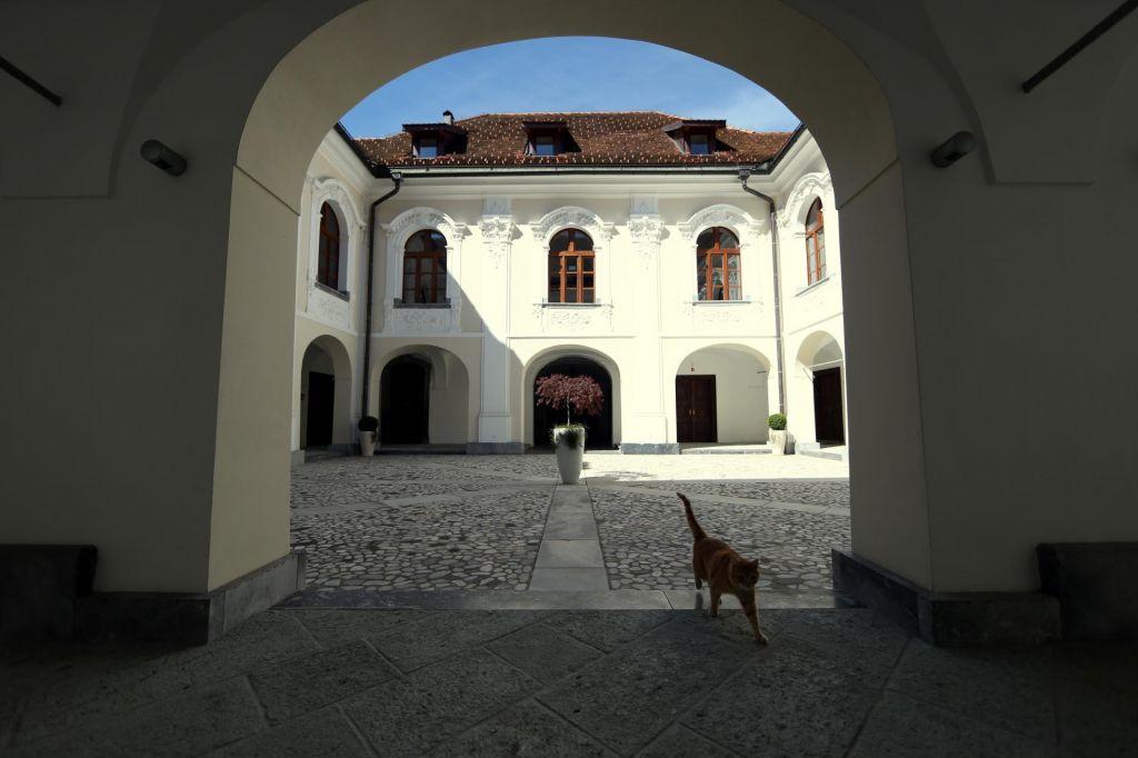 FOTO:Ljubljanska nadškofija zaradi gradu Goričane ob 1,5 milijona evrov