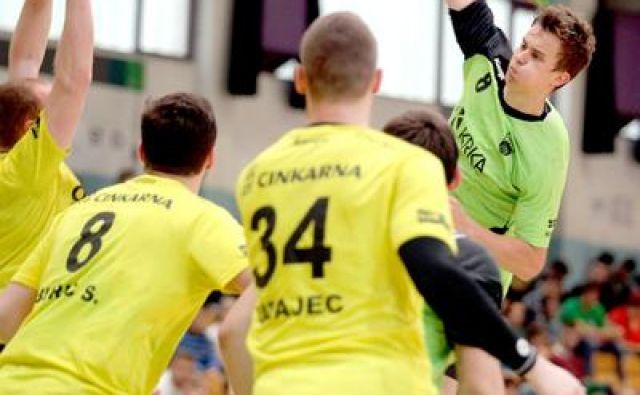 Grega Okleščen velja za obetavnega rokometaša, a je zašel na stranpoti. FOTO: Roman Šipić