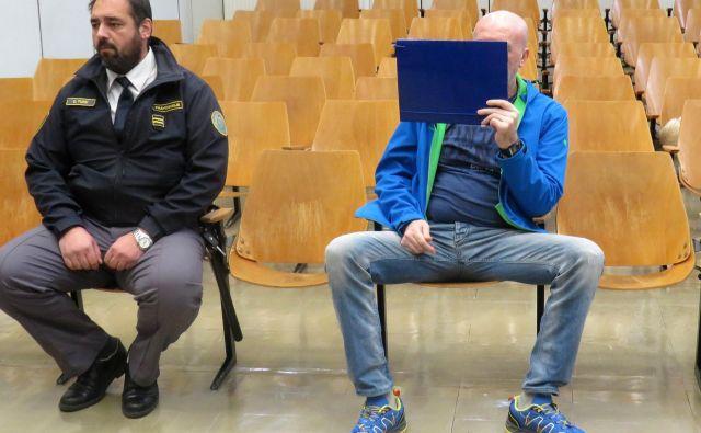 Muho Amidžić je na prostosti, ob razglasitvi sodbe mu pripora niso podaljšali. FOTO: Špela Kuralt/Delo