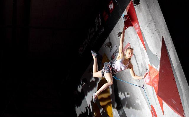 Janja Garnbret ima pri 20 letih 26 zmag za svetovni pokal. Bo niz za sedmo nadaljevala tudi v Chamonixu? FOTO: Luka Fonda