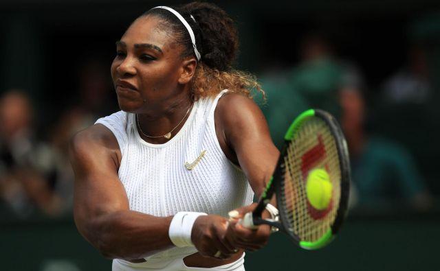 Serena Williams je v tej sezoni igrala le za vzorec, a zdi se, da ravno pravi čas spet prihaja v pravi ritem, pravo formo. FOTO: AFP
