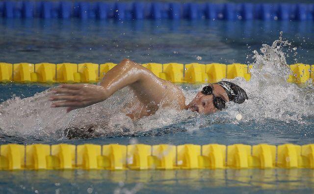 Anja Klinar je bila v domačem bazenu nepremagljiva. FOTO Blaž Samec/Delo
