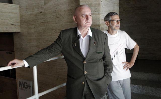 Peter Mlakar in Iztok Turk sta avtorja projekta Peter Paradox.<br /> Foto Mavric Pivk