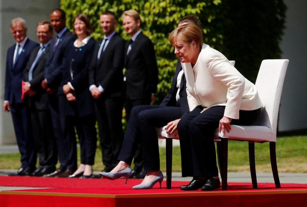 Kaj se dogaja z Angelo Merkel?