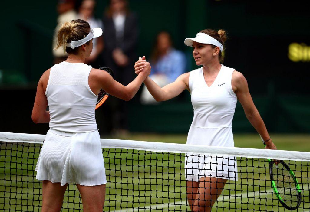 V finalu Wimbledona Halepova proti Sereni