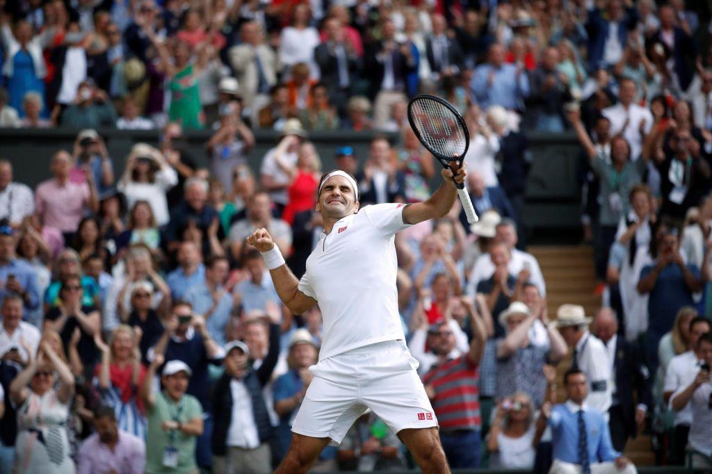 FOTO:Federerju štirideseto poglavje epskega rivalstva