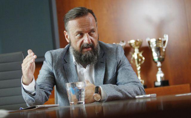Kri�štof Mlakar, direktor Voka Snaga. FOTO: Leon Vidic/Delo