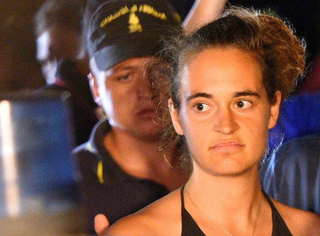 Carola Rackete vložila tožbo proti Salviniju