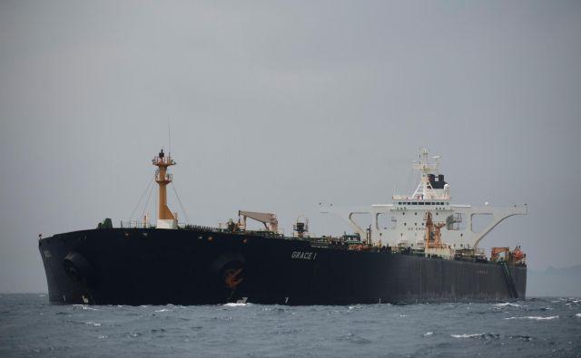 Tanker Grace 1. FOTO: Jorge Guerrero Afp